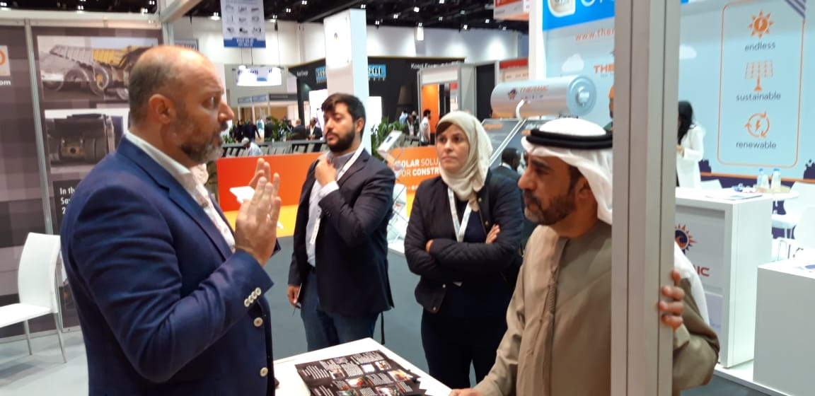 Comet Consulting Group made a successful presentation at the Global Summit BIG5 & Solar exibition in Dubai.